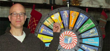 Look At This Prize Wheel Spin