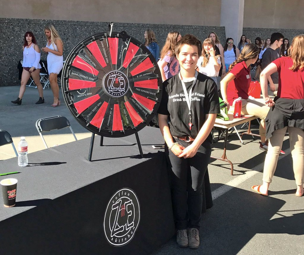 Prizewheel Com Zoe Coffee Amp Kitchen Spins Lattes And More
